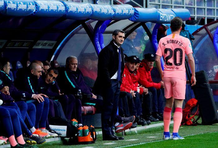 Barcelona Tutup La Liga Dengan Seri Kontra Eibar